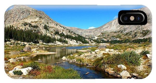 Lawn Lake View IPhone Case