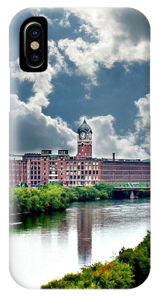 Lawrence Ma Historic Clock Tower IPhone Case