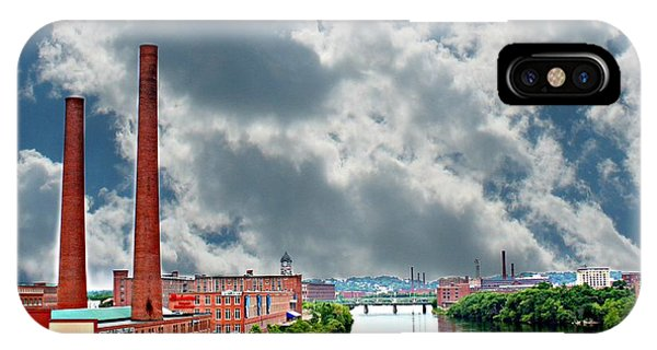 Lawrence Ma Skyline IPhone Case