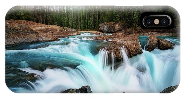 Flow iPhone Case - Layers 2 by Juan Pablo De