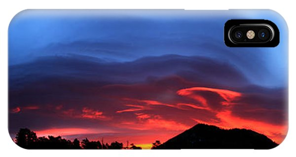 Layers In The Sky - Panorama IPhone Case