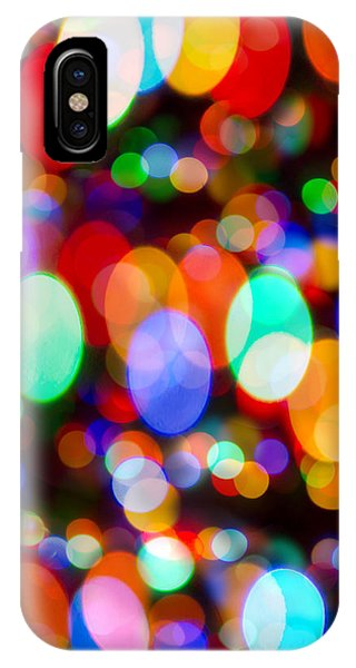 Layers Of Colorful Lights IPhone Case