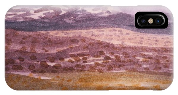 Layers Of Landscape IPhone Case