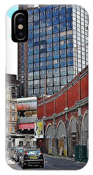 IPhone Case featuring the photograph Layers Of London by Jeremy Hayden