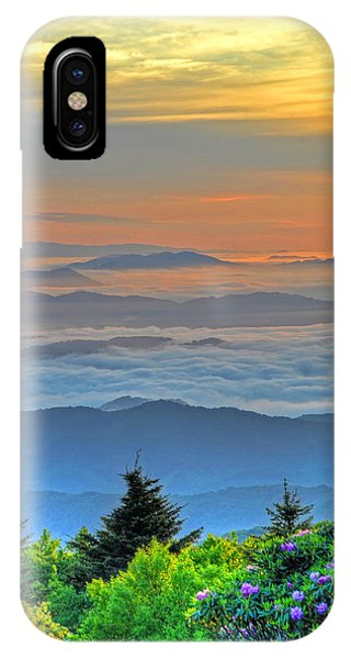 Layers Of Sunrise Phone Case by Mary Anne Baker