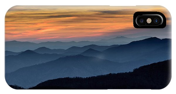 Layers Of The Blue Ridge Mountains IPhone Case