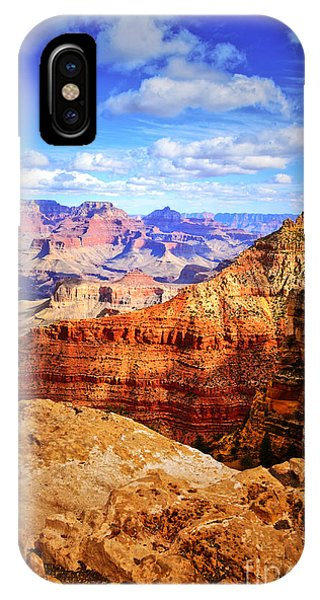 Layers Of The Canyon IPhone Case