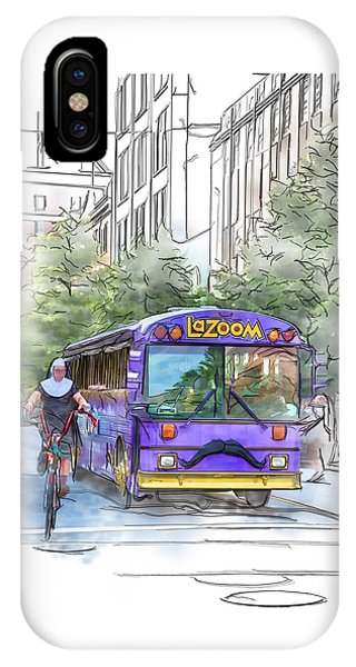 Lazoom Nuns On Bikes IPhone Case