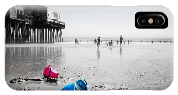 Orchard Beach iPhone Case - Lazy Days Of Summer by Jane Rix