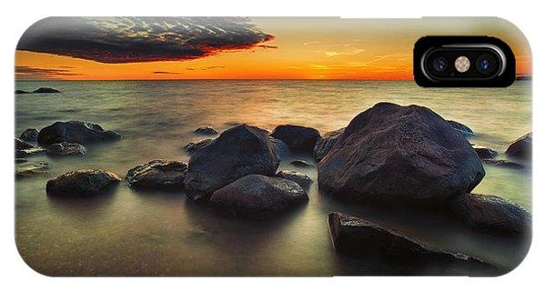 Lazy Sunset IPhone Case