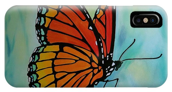 Le Beau Papillon IPhone Case