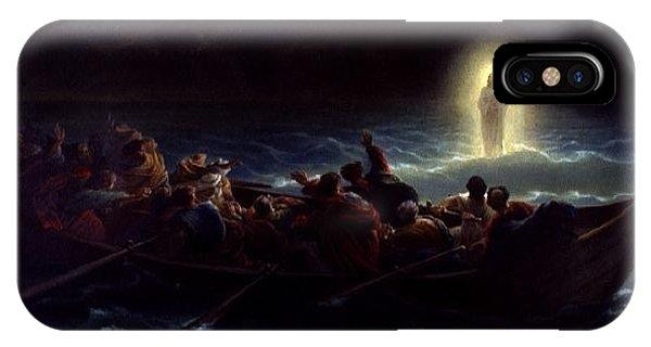 Le Christ Marchant Sur La Mer IPhone Case