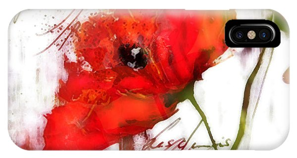 Le Coquelicot ... IPhone Case