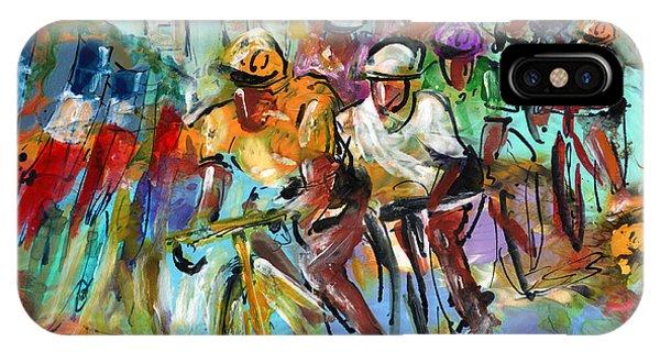 Le Tour De France Madness 02 IPhone Case