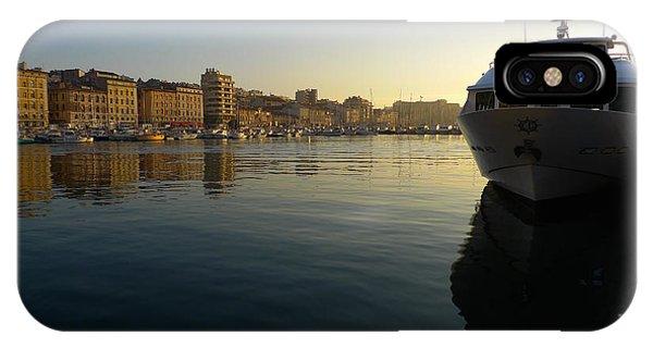 Le Vieux Port Marseille IPhone Case