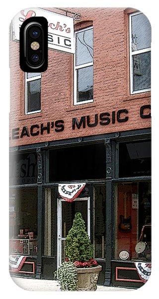 Leach's Music IPhone Case