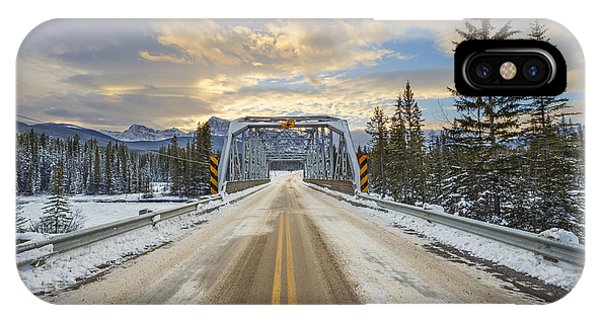 Banff iPhone Case - Lead Me To The Light by Evelina Kremsdorf