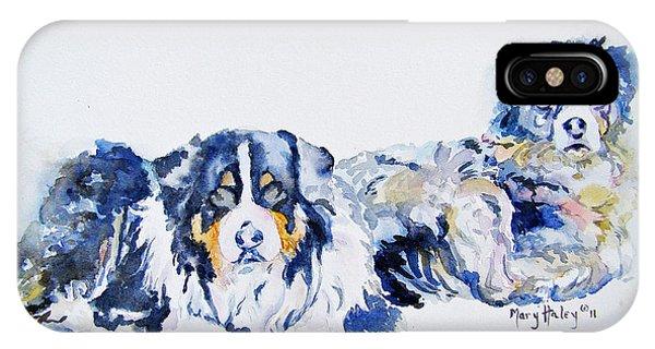 Leadville Street Dogs IPhone Case