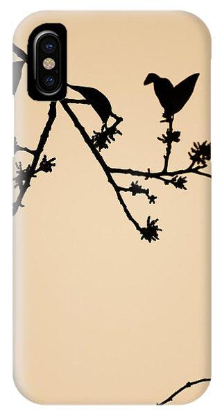 Leaf Birds IPhone Case