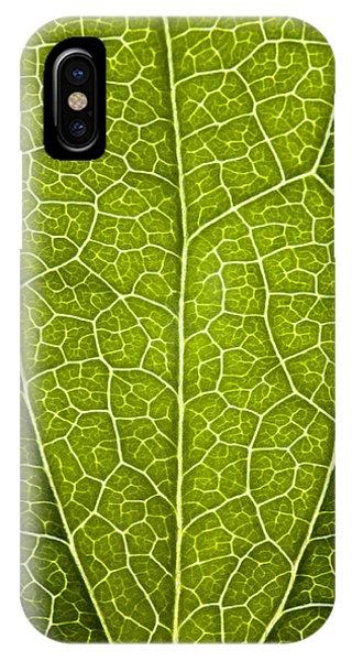 Leaf Lines V Phone Case by Natalie Kinnear