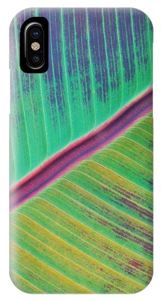 Leaf Structure IPhone Case