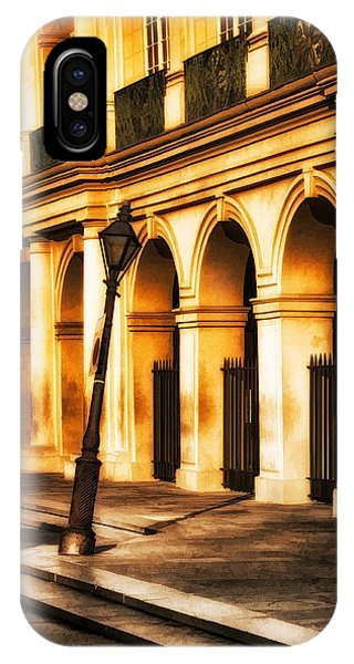 Leaning Lamp Post IPhone Case