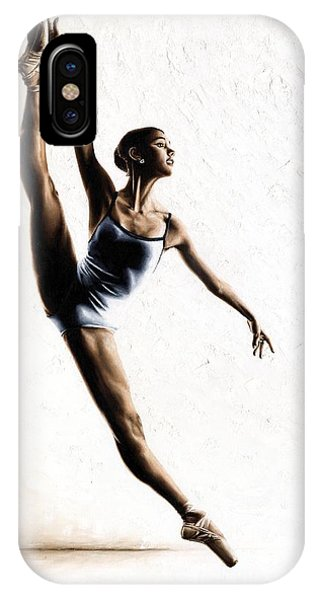 Ballerina iPhone Case - Leap Of Faith by Richard Young