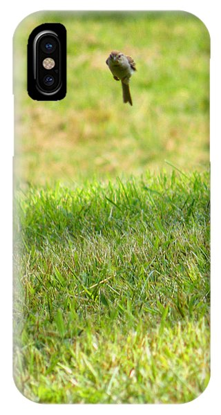 Leaping Bird IPhone Case