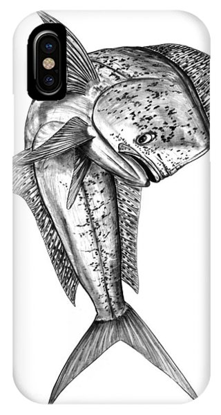 Leaping Dolphin  IPhone Case