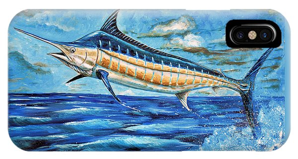 Leaping Marlin IPhone Case