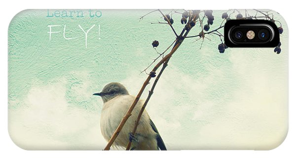 Learn To Fly IPhone Case