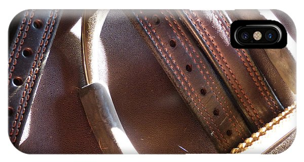 Leather And Iron IPhone Case