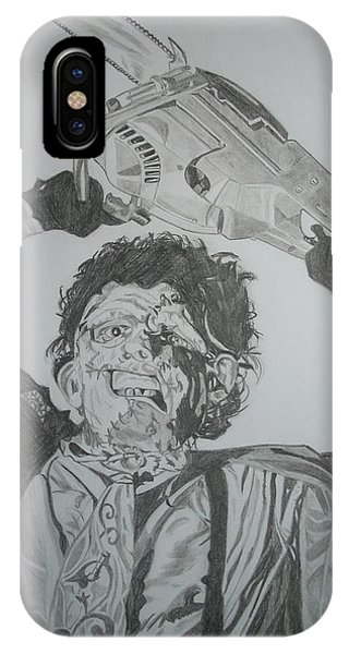 Leatherface Phone Case by Jose Mendez