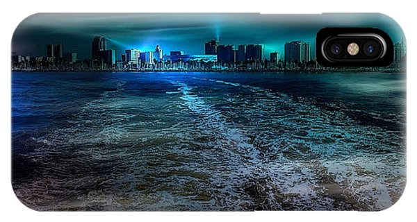 Leaving Long Beach IPhone Case