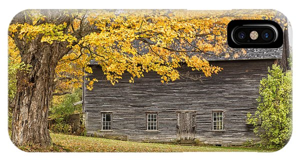Leavitt's Barn IPhone Case