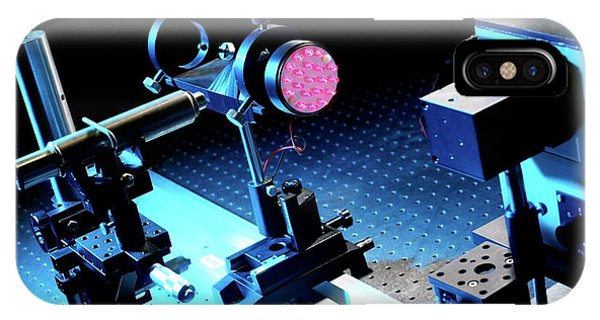 Npl iPhone Case - Led Light Research by Andrew Brookes, National Physical Laboratory/science Photo Library