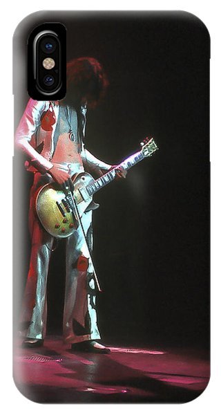 Rock And Roll Jimmy Page iPhone Case - Led Zeppelin 3 by Joe  Gliozzo