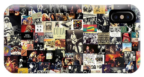 Tribute iPhone Case - Led Zeppelin Collage by Zapista Zapista