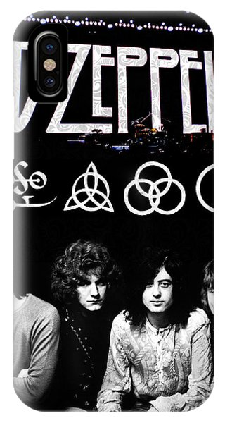 Ben iPhone Case - Led Zeppelin by FHT Designs