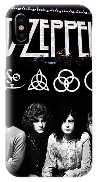 Drum iPhone Case - Led Zeppelin by FHT Designs