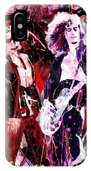 Led Zeppelin - Jimmy Page And Robert Plant IPhone Case
