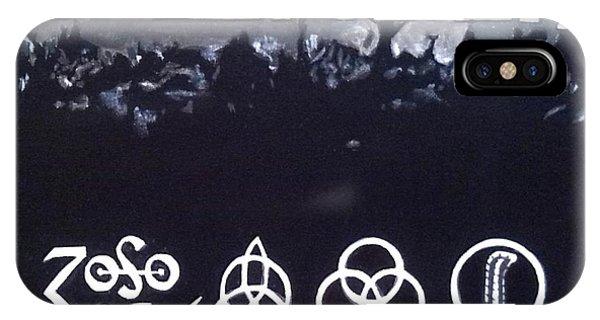 Led Zeppelin Phone Case by Richard John Holden RA