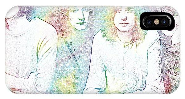 Led Zeppelin Tie Dye IPhone Case