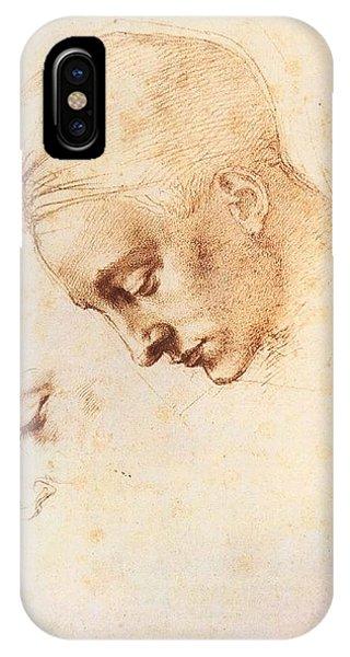 Leda's Head - Study IPhone Case