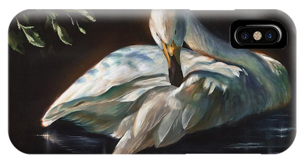 Leda's Swan IPhone Case