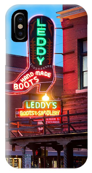 Leddy Hand Made Boots 031315 IPhone Case