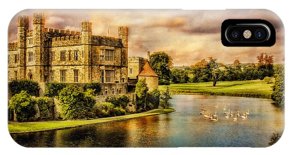 IPhone Case featuring the photograph Leeds Castle Landscape by Chris Lord
