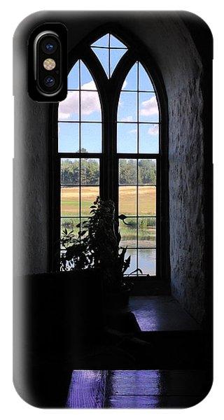 Leeds Castle Window IPhone Case