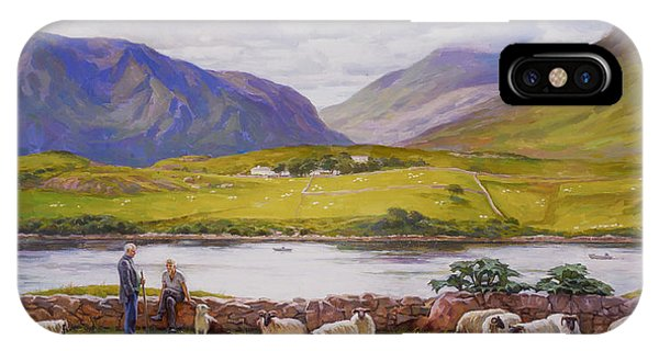 Leenane. Ireland. IPhone Case