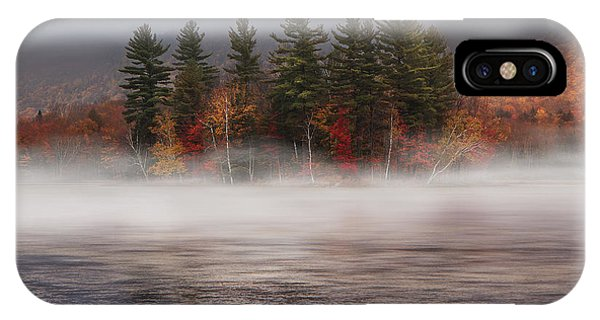 Pond iPhone Case - Lefferts Pond by Magda  Bognar